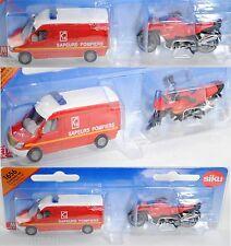 Siku Super 1656 00102 Feuerwehr Set mit Mercedes-Benz Sprinter II & BMW R1200 GS
