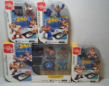WWE Rumblers Apptivity Starter Set & 3 Figure Packs New Sealed John Cena Sheamus