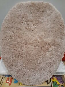 New Wamsutta Ultra Soft Bathroom Universal Toilet Lid Cover Rose Pink color