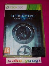 RESIDENT EVIL REVELATIONS XBOX 360 NEUF SOUS BLISTER ABIME FRANCAIS