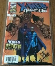 Magneto magneto war 1 dynamic forces signed by Lee Weeks COA