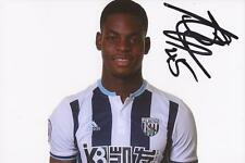 WEST BROM: JONATHAN LEKO SIGNED 6x4 2016/2017 PORTRAIT PHOTO+COA