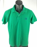 U.S. Polo Men's Button Front Plaid Shirt size S Small Green Polo