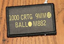 9mm Ball Ammo CanMorale Patch