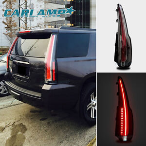 VLAND LED Tail Lights For 15-18 Chevrolet Tahoe Suburban Full LED Escalade