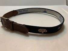 Peter Millar REEL POINT SIZE 30 Brown Leather Blue Pink Royal Oaks CC (856)