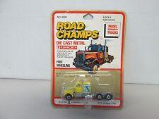 Road Champs Model Kenworth Truck (yellow) (1)