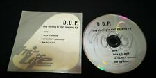 D.O.P. – Stop Starting To Start Stopping E.P. CD EP Card sleeve