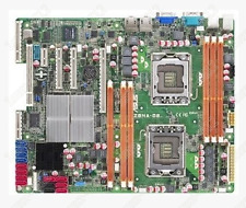 1 pc used ASUS Z8NA-D6 / D6C Dual 1366 Server Board