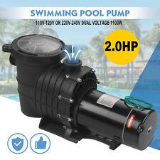 110-240V 2HP Inground Swimming Pool pump motor Strainer Hayward Replacement U.S