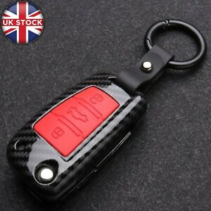 Car Remote Key Fob Cover Case ABS Silicone For Audi A3 A4 A5 Q7 TT 8L 8V S3 New