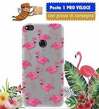 CUSTODIA COVER TPU GEL SILICONE FLAMINGO FENICOTTERO ROSA per APPLE IPHONE 5 5S