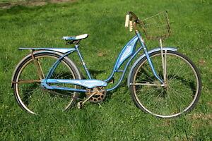 Vintage AMF Roadmaster Skyrider girl's bicycle
