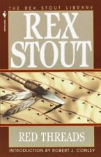 Nero Wolfe Ser.: Red Threads by Rex Stout (1995, Paperback)