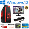 Gaming PC Computer Bundle Intel Quad Core i5 8GB 1TB Win 10 2GB GT710 SUPER FAST