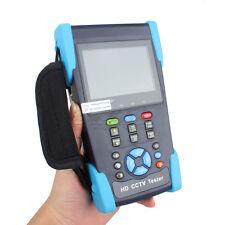 "5-In-1 3.5"" LCD HD-AHD/CVI/TVI/SDI CVBS Camera Tester Monitor Test PTZ Control"