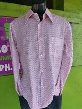 Polycotton Vintage Casual Shirts for Men