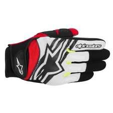 Gants Motocross Alpinestars Spartan XL - Noir Blanc Jaune Rouge