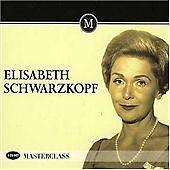 Various - Elizabeth Schwartzkopf - Masterclass - 3 CD's