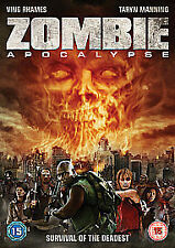 Zombie Apocalypse (DVD, 2012) HORROR Ving Rhames NEW SEALED PAL Region 2