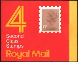 Great Britain #BK285 MNH complete booklet