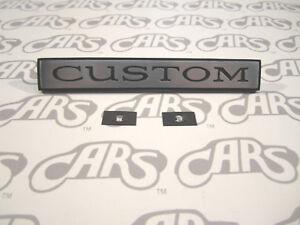 1970-1972 Buick Custom Quarter Panel Emblem | Skylark | LeSabre