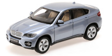 1 18 Kyosho BMW X6 E71 Active Hybrid 2010 Lightblue-metallic