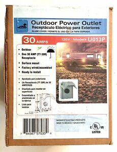 Midwest 30 Amp Outdoor Power Outlet U013P