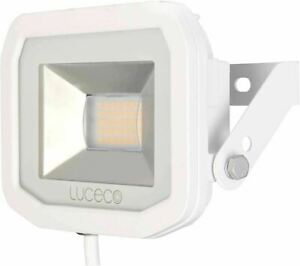 Luceco Guardian Slimline LED 8W Security Floodlight Neutral White PIR 600 Lumens
