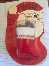"RETRO CHRISTMAS GAG GIFT  ""SANTA'S LUMPS"" REAL CHESTNUT COAL -- FROM 1981"
