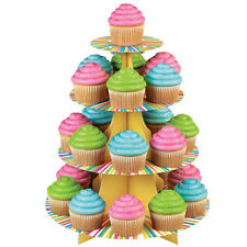 Alzata in Cartone Wilton per muffin e cupcake - Wilton Color Wheel 4 Livelli
