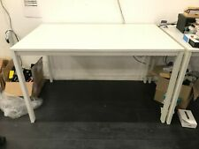 More details for large ikea melltorp white computer office desk - 125cm x 75cm - office clearance
