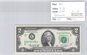 USA $2 Dollars 1976 Richmond E54786736A Pick 461