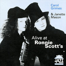NEW - Alive at Ronnie Scott's by Carol Grimes & Janette Mason