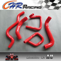High performance Ford Falcon BA BF XR6 Turbo Silicone Radiator Hose Kit RED
