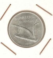 Italy: 10 Lire 1977R SC