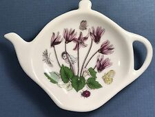 Portmeirion Botanic Garden Teabag Holder By Susan Williams-Ellis