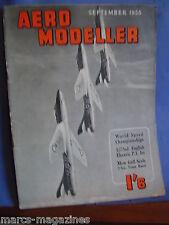 AEROMODELLER SEPTEMBER 1955 MEW GULL ALTAIR KEIL KRAFT FACTORY TIPSEY JUNIOR PLA