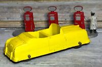 "VTG '49 Diecast TOOTSIETOY 3"" Ford Convertible Yellow Body (BRW)"