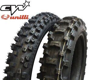 "Pit Bike 12"" 14"" Tyre Set UNILLI PW 80 KTM 12/14 60 80 100"