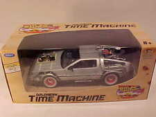 DeLorean 1981 BACK TO THE FUTURE Part 3 Time Machine Die-cast 1:24 Welly 7 inch