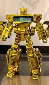 Transformers Lucky Draw Gold G1 Classic Henkei Optimus Prime Convoy