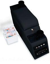 Rampage 31515 Locking Center Console Denim Black 1976-1995 CJ & YJ Wrangler