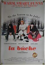 LA BUCHE ROLLED ORIG 1SH MOVIE POSTER CHARLOTTE GAINSBOURG SABINE AZEMA (1999)