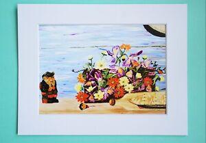 Photo Art Print VanagART New A5 Format Framed Cardboard Still Life Painting Gift