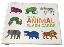 Eric Carle Animal Flash Cards Introduction To ABC