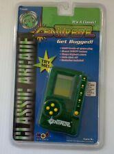 New Nip Centipede Handheld Lcd Game Green Mga 1997 Classic Arcade