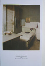 ANDRES SERRANO  - Carton d invitation - 2014