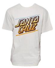 Santa Cruz Tee Skateboard T Shirt Sundown Vintage White Xl Adult