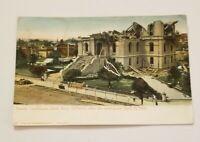 Vintage RPPC Postcard - County Courthouse Santa Rosa California Earthquake 1906